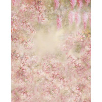 Wholesale Backdrop Fantasy - 5x7ft Pink Flowers Newborn Baby Photography Backdrop Kids Birthday Fantasy Floral Background Studio Photo Booth Prop