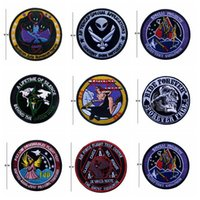 VP-218 Ricamo Tactical patch Rodeo Gal patches militari biker progetto speciale Badges patch iron su patch