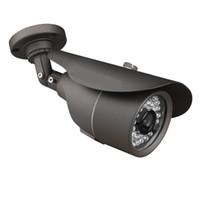 Wholesale High Resolution Ir Lens - HD 1200TVL CCTV Camera Bullet Surveillance 3.6mm Lens High Resolution 36 Infrared LEDs IR Cut-120ft IR Night Vision Distance Weatherproof