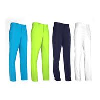 Wholesale Wholesale White Trousers - PGM Men's Pants Golf Clothes Trousers for Men Quick Dry Breathable Golf Pants 4 Colors XXS-XXXL 2513016