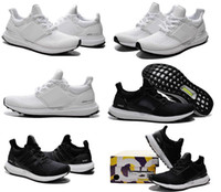 Wholesale Autumn Waterproof Shoes - 2017 Ultra Boost 2.0 1.0 3.0 Triple Black White Men's Women's Casual High Quality Summer Autumn Lightweight Walking Shoes Size US5-11