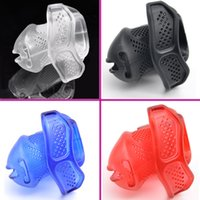 Wholesale Adult Building - New Breathable Design Male Chastity Devices With 5 plastic locks and Brass built-in Lock Cock Cage Adult Sex Toys For Men