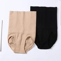 xs korseler toptan satış-Toptan-Sıcak Satış Kadınlar Karın Kontrol Bel Zayıflama Shapewear Şekillendirici Külot Yüksek Bel Korse Külot Kuşak Iç Çamaşırı Artı Size6326