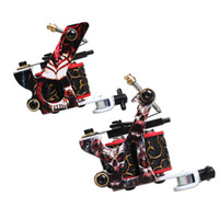 Wholesale Cool Stamps - A pair of beginner tattoo guns easy to learn best price cool design stamping machine WQ5011WQ5012