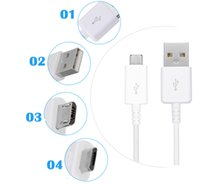 Wholesale Mircro Usb Charger - high quality Micro USB Cable Fast Charger for Samsung Galaxy S4 S6 S7 Note 4 5 Mircro usb Data Cable