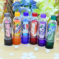 Wholesale HOT Rainbow Color changeable cute Lip Balm cola Lipstick Wax Cup Lip Smacker Baby Lips Balm Brand Makeup Fullips Colour Magic