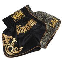 Wholesale Muay Thai Boxing Shorts - MMA Training Short Man's Thai Boxing Shorts Muay Thai Boxeo Shorts Mma Fight Trunks Sports Trunks sport shorts