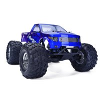 Wholesale Hsp Brushless - Wholesale- HSP Rc Car 1 10 Scale 4wd Brushless Off Road Monster Truck 94601PRO Electric Power Remote Control Car Similar HIMOTO REDCAT