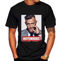 Wholesale Black Gildan Shirt - GILDAN 2017 Fashion Men T Shirts Round Neck Men's conor mcgregor T-shirt Black