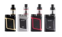 Wholesale Al Plastic - smok smoktech al85 al 85w alien start kit kits mod mods tfv8 baby tank tanks smoke 85 vaporizer adjustable airflow system clone clones