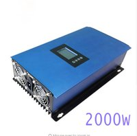 Wholesale Grid Tied Solar System - 2000W MPPT Solar Power on Grid Tie Inverter with Limiter for single 3 Phase Connection new 2nd generation system