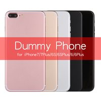 Wholesale Display Phone Model - for Display for Exhibition Non-Working 1:1 Size Plastic Dummy Phone Model for iP7 6 6S Plus 5s Imitation clone Phone Model