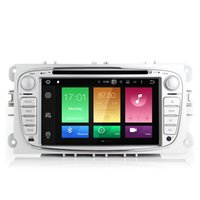 "Wholesale Gps Mondeo Android - 7"" Touch Screen Android 6.0.1 System Car DVD For Ford Focus Mondeo Galaxy C-max GPS Navi Stereo Octa-core 2G RAM 32G ROM WIFI 4G OBD DVR BT"