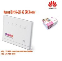 Wholesale Huawei 3g Dongle - Huawei Unlocked B315 4G 3g B315s-607 Mobile 4g WiFi Router 4g wifi dongle cpe Hotspot VOIP CPE Router