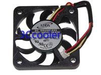 ventilateur adda 4cm achat en gros de-Nouvelle ADDA originale 40 * 40 * 7mm 12V 0.08A AD0412HB-K96 3FILS 4cm Dissipateur ventilateur de refroidissement