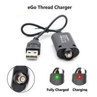 vision w achat en gros de-eGo USB Charger Cigarette électronique eGo 510 Chargeur pour eGo-T eGo-W eGo-C EVOD Twist Vision Spinner 2 3 Batterie 420 mA 5V Out