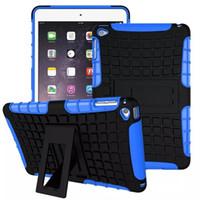 pomme mini coque achat en gros de-2 en 1 Defender Rugged Armor Case Couverture de la tablette pour iPad Mini 1 2 3 4 avec support Kickstand Shockproof Shell peau