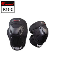 Wholesale Off Road Armor - SCOYCO Black Motorcycle Motocross Bike Bicycle Pads Racing ATV Off Road Knee Pads Protective Guards Armor Gear k15-2