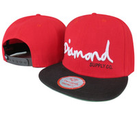 Wholesale Diamonds Supply Snapback - black beautiful Men and Women Unisex Diamond Supply Co. Snapback Hats most popular baseball Hats freeshipping 1pcs lot