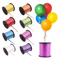 Wholesale Wedding Bouquet Flower Sets - A-1 Balloon Ribbon Roll Diy Roll Crafts Foil Curling Wedding Birthday Party Gift Flower Bouquet Cards Decorations K2