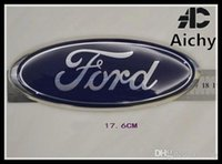 Wholesale ford focus stickers - suit for Ford Fiesta 2009 Focus 12 front emblem badge mark logo