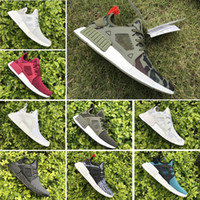 Wholesale 2017 Cheap Hot NMD R1 Primeknit PK Perfect Authentic Running Sneakers Fashion Running Shoes NMD Runner Primeknit Sneakers With BOX