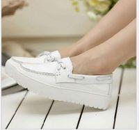 Wholesale Pregnant Comfortable - Spring comfortable Nurse shoes genuine leather Flats platform shoes Cow Leather pregnant single shoes
