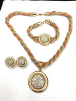 Wholesale Gifts Item China - Meini - kakaad's top three items in 2017 are necklaces, earrings, bracelets, and gold-plated three-color pendant lasers for gift-giving, soc