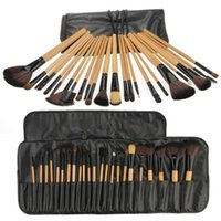 Wholesale essential makeup tools for sale - 24 Professional Makeup Brushes Make Up Cosmetics Kit Makeup Set Brushes Tools Makeup Tools Accessories Beauty Essentials