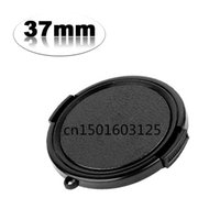 Wholesale 37mm Cap - Wholesale-2pcs 37mm Side-Pinch Lens Cap for Filters & DC With Tracking Number (if you need other size,Please message to me. thank you!)