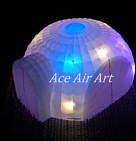 Wholesale China Led Curtain - Customized made in China Inflatable LED Dome with 4 entrances and 4 doors curtains for German