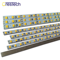 Wholesale 12v rigid strip lights online - LED Bar Lights Strip DC12V MM W Meter SMD5730 LED Strip LED Per Meter Cool White K DC12V LED Rigid Strip