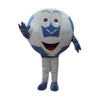 Wholesale Football Mascots - Football Mascot Costumes Cartoon Character Adult Sz 100% Real Picture