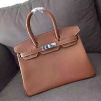 Wholesale imported cell phones for sale - Group buy Factory direct sale make to order women fashion bag imported genuine supper soft cowhide shoulder bag handmade size cm women bag