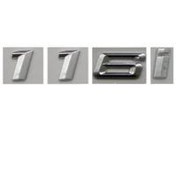 Wholesale 3d Chrome Letters - Chrome Number Trunk Rear Letters Badge Emblem Sticker for BMW 1 Series 116i