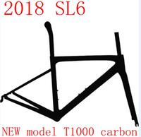 Wholesale 58cm Carbon Fiber Frame - 2018 HOT SALE carbon road bike frame T1000 full carbon fiber bicycle frameset size 44-58 include frame+fork+headset+seatpost+clamp