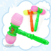 2017 New Kids Plastic Hammer Toys Enfants Baby Sound Whistle Toys Noise Maker Birthday Party Favor Gift