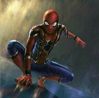 Wholesale 3d Movie Iron Man - Zentai revenge spider-man returns to the tights costume iron spider man 3D printing Cosplay
