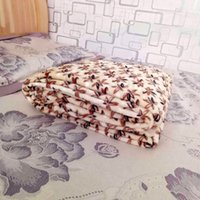 Wholesale Wholesale Coral Fabric - hot sale velvet blanket thick coral velvet blanket winter warm sheets nap air conditioning blankets practical home textile