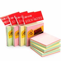 Wholesale sticky note convention small self adhesive paper Repeat paste color set various of color multi type creative good quality
