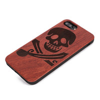 Wholesale skull cell case - U&I ®Soft TPU Case Cover for IPhone Coolest Pirate Skull Pattern Cell Phone Case&Cover with TPU Bumper