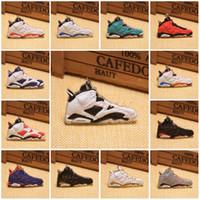 basquete chaveiros encantos venda por atacado-20 Estilos de Tênis de Basquete Chaveiro Anéis Charme Sneakers Chaveiros Chaveiros Pendurado Acessórios Novidade Moda Sneakers C90L