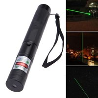 Wholesale Star Battery Charger - Wholesale High Quality Laser Pointers Powerful Green Long Laser Pointer Aluminium Alloy Pen Star Cap With 18650 Battery And Charger