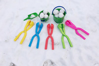Wholesale Kids Winter Items - Winter Snow Ball Maker Sand Mold Tool Kids Lightweight Compact Scoop Snowball Fight Outdoor Sports Game Toys for Children b974