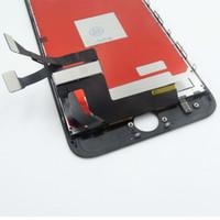 3d sayısallaştırıcı toptan satış-IPhone 7 için Artı 5.5 yüksek Kalite LCD Dokunmatik Ekran Digitizer Çerçeve Meclisi Değiştirme Ile 3D Dokunmatik Siyah Beyaz