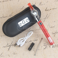 Wholesale Ego Mini Pen - Dab Wax Vape Glass Globe Dab Pens Glass Globe Kit Dome Portable Vaporizer Ugo-V2 Battery eCigs Mini Zipper eGo Case
