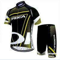 Wholesale Cheap Orbea - cycling jersey pro team Men's Orbea summer Short sleeve shorts sets Sport cheap-clothes-china fietskleding wielrennen zomer heren set A0402