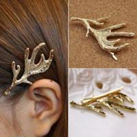 ingrosso accessorio di gioielli per capelli-Bobby Pin Barrette Accessori per i capelli Braccialetti in lega d'oro Barrettes Hair Jewelry