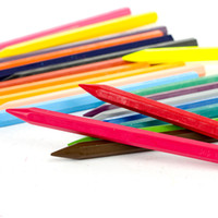 Wholesale Crayon Chalk - Faber-Castell Crayons 24 Crayons de Couleur Art Drawing Set Pastel Painting Pencil 12 18 24 Colors   Set Chalk Color Crayon Gift Crayons