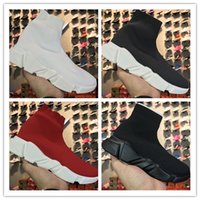 Wholesale Socks For Hiking - LIMITED EDITION Original Italy Speed Sock Running Shoes For Men&Women All Black White Red Stretch-knit Mid Summer Sneakers size 35-46